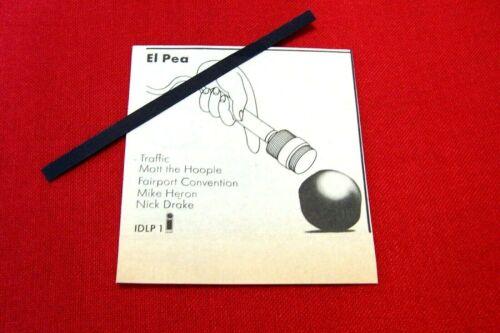 NICK DRAKE 1971 ORIGINAL VINTAGE ADVERT EL PEA COMPILATION ALBUM ISLAND RECORDS