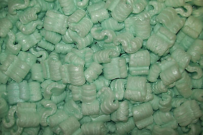Packing Peanuts Loose Fill Anti Static Green 12 Cubic Feet90 Gallons Brand New