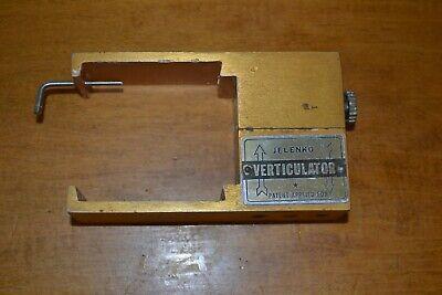 Jelenko Verticulator For Precision Restorations Vintage Dental Lab Articulator