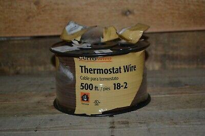 Cerrowire Thermostat Wire 500 Feet 182 Item 210-1002j2 - New