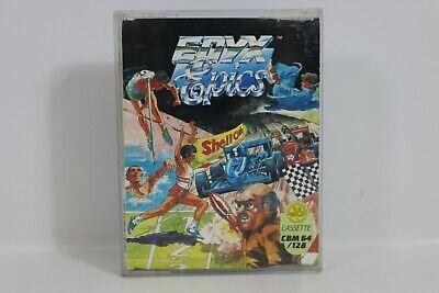 Epyx Epics Commodore 64 Cassette