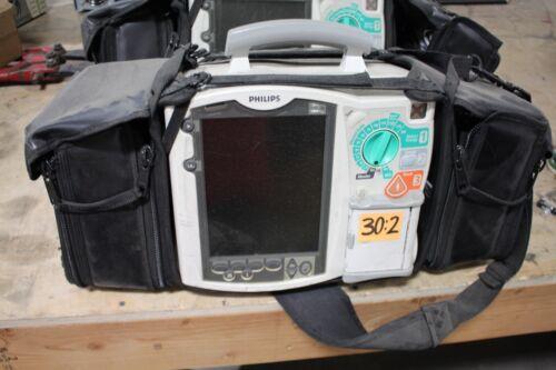 PHILIPS HEARTSTART  AED Monitor  M3536A OPT ABAB04B08B09B14 11059985
