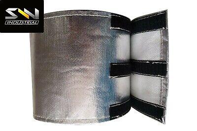 SWI PARTS Universal Starter heat shield 7 X 24 in Wrap Self Attaching