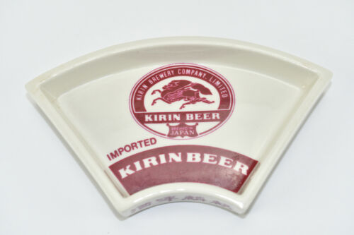 Kirin Beer Advertising - Sakura China Porcelain: Ashtray / Change / Trinket Dish