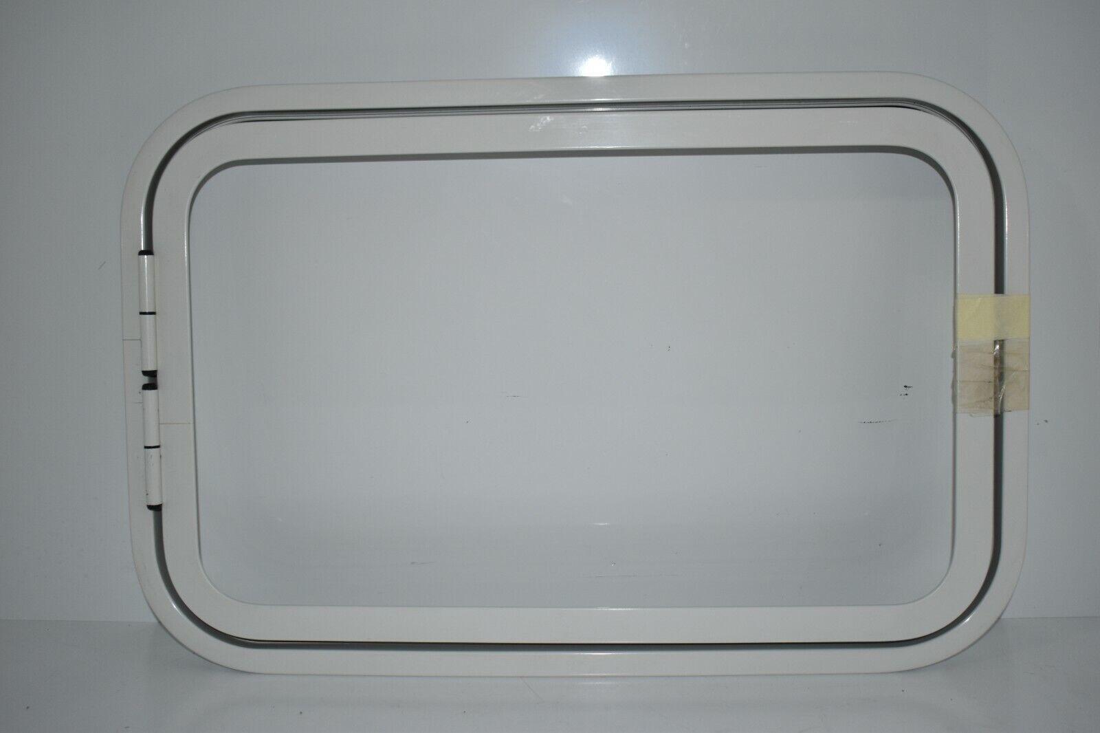 Klappenrahmen Serviceklappe 400 x 620 mm weiß gebogen