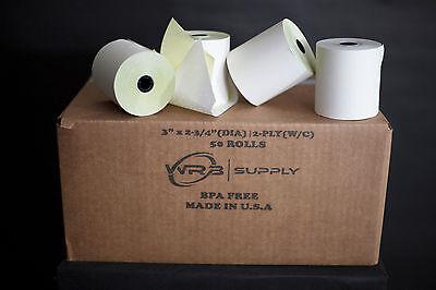 2 Ply Impact Receipt Printer Paper 3 X 90 50case