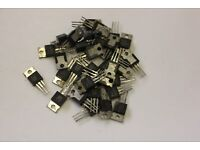 Transistor Abstandshalter Halter TO-39 TO39 rot 5St. Kunststoff