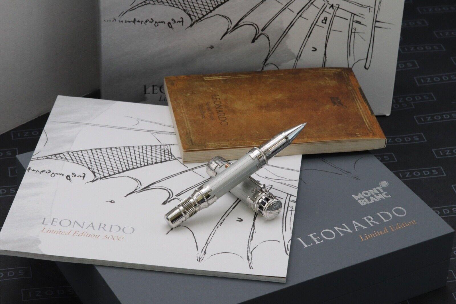 Montblanc Leonardo da Vinci Limited Edition 3000 Rollerball Pen - UNUSED