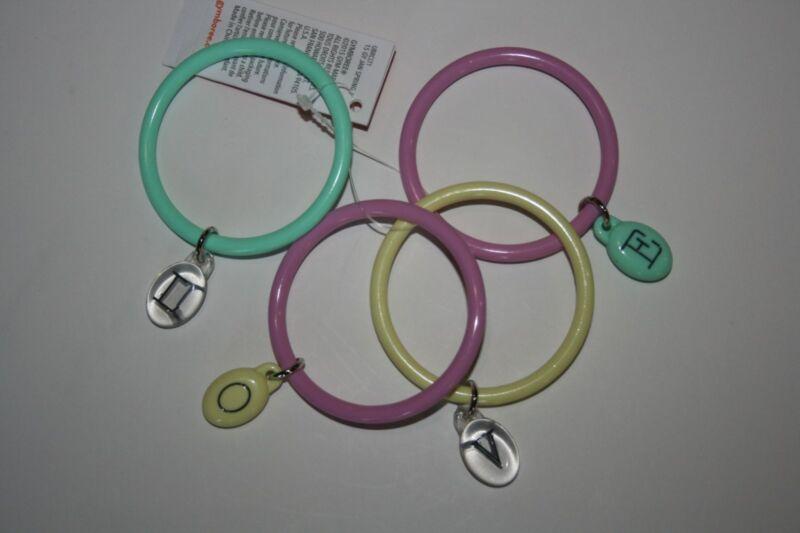 New Gymboree Multi-Color Love Bangle Bracelets One Size NWT Bracelet Jewelery
