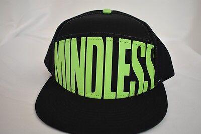 Mindless Behavior Hypno Spiral Baseball Snapback Hat Cap New
