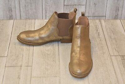 Report Vianca Chelsea Boot-Big Girl's Size 5 Soft Gold ()