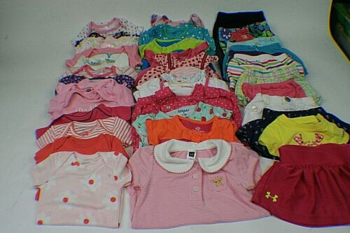 Lot Of Baby Girl Clothes 0-3 Months Spring And Summer Clothes 37 Total i1