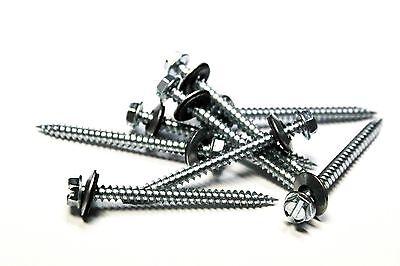 250 8 X 2 Hex Head Sheet Metal Screws Neoprene Washer Roofing Screws