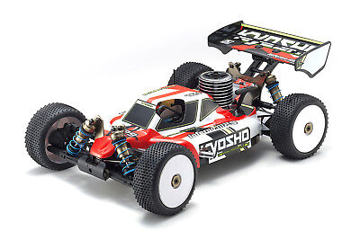 (Kyosho Inferno MP9 TKI4 ReadtSet RTR 1:8 RC Nitro Racing Buggy - 33014T1B)