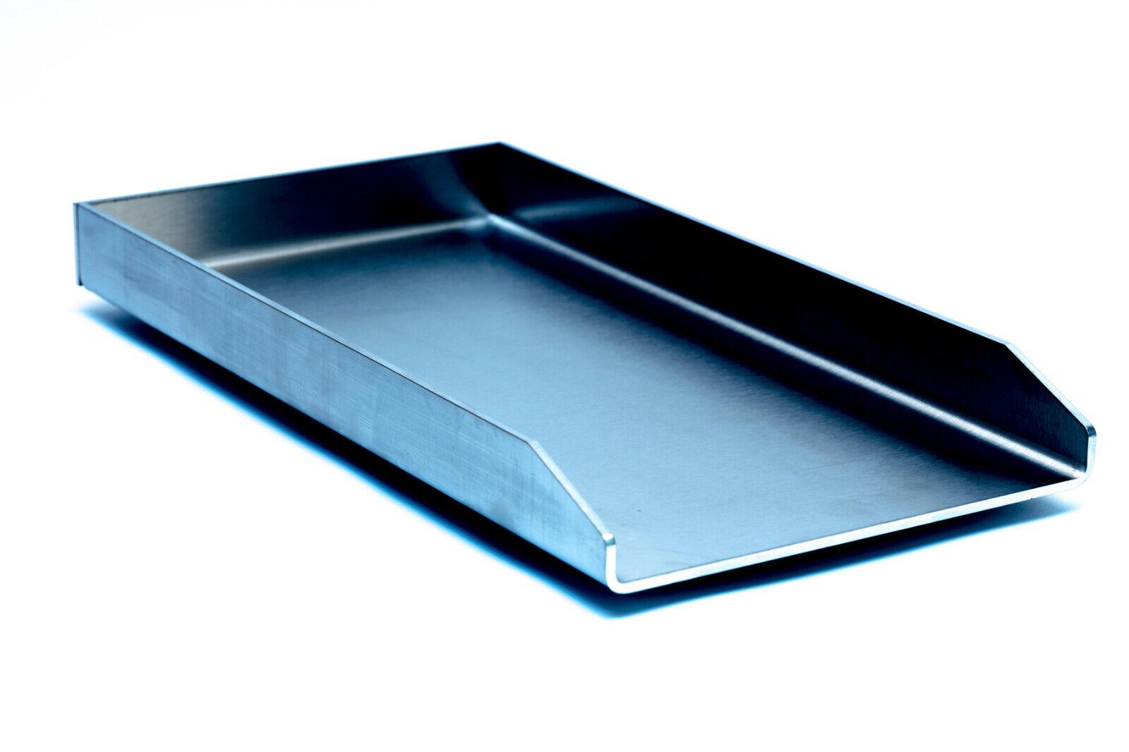 Edelstahl Plancha / Grillplatte / für Weber Genesis II / 480 x 290 x 4mm