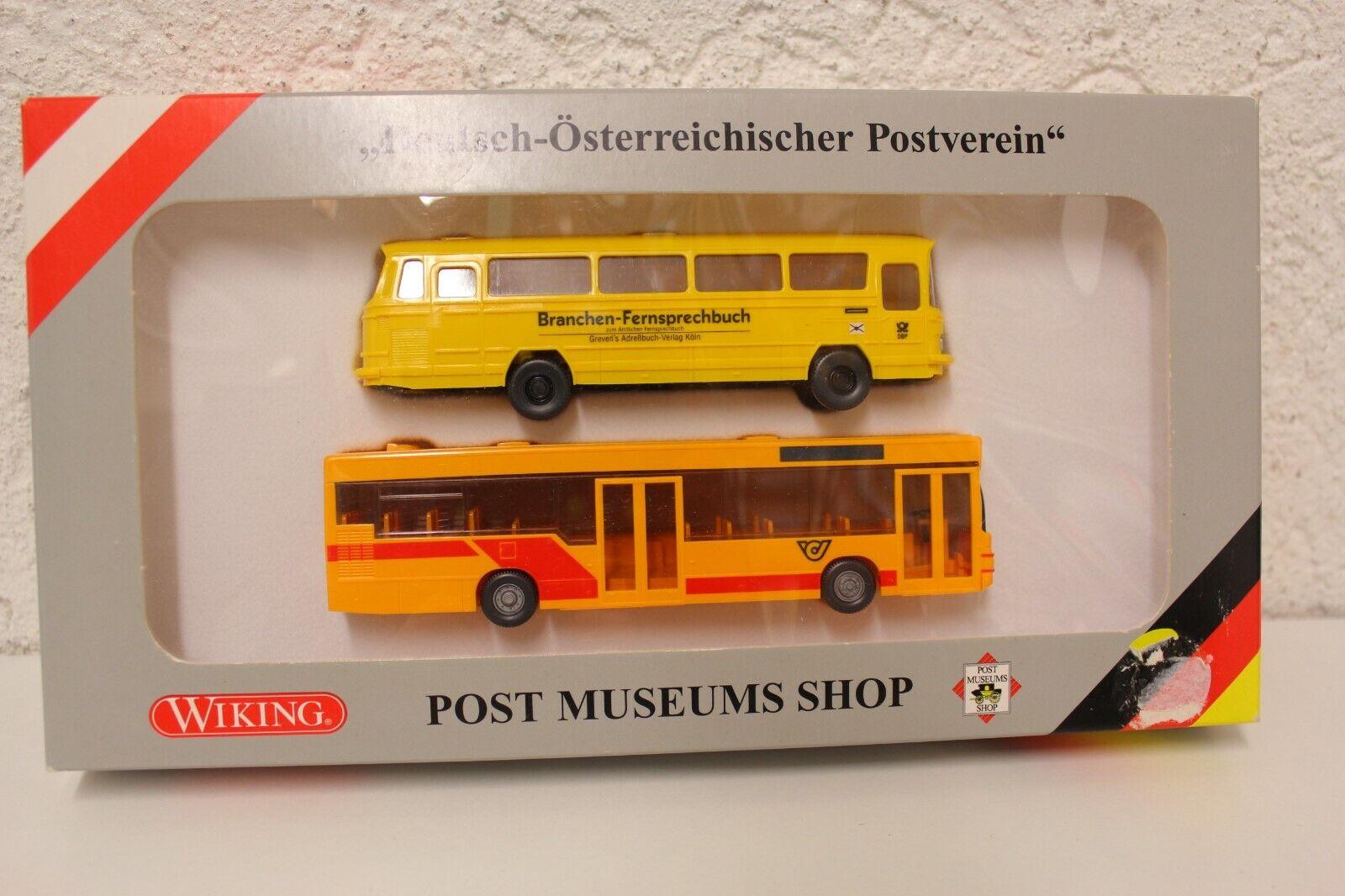 Wiking Österreich Sondermodell ÖAF Gräf /& Stift Postbus TOP