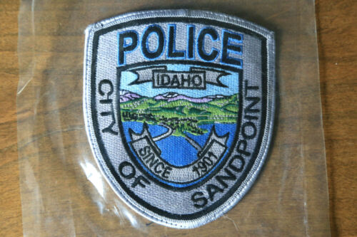 """Idaho Police- Sandpoint Police Patch / """"Police - City of Sandpoint - Since 1901"""""""