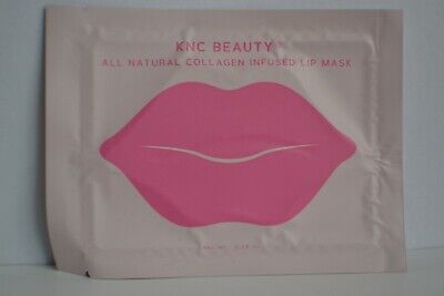 Sealed KNC BeautybAll Natural Collagen Infused Lip Mask single RRP £5