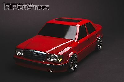 RC Body Car Drift Touring 1:10 Mercedes Benz E 124 style APlastics New Shell for sale  Shipping to United States