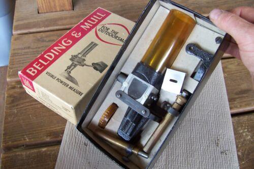Belding Mull Powder Measure in original box used
