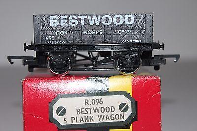 OO Scale Hornby R.096 Bestwood 5 Plank Open Wagon 655