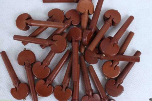60pcs 4/4 violin parts&accessories Jujube wood Violin pegs