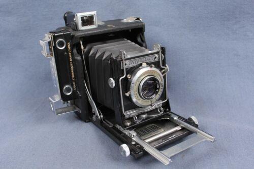 Graflex Baby Graflex 2 1/4 x 3 1/4 Speed Graphic w/ Kodak Ektar 101mm f/4.5 READ