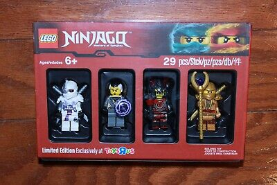 Lego 5004938 Ninjago Bricktober Toys 'R' Us Minifigure Collection - New, Sealed!