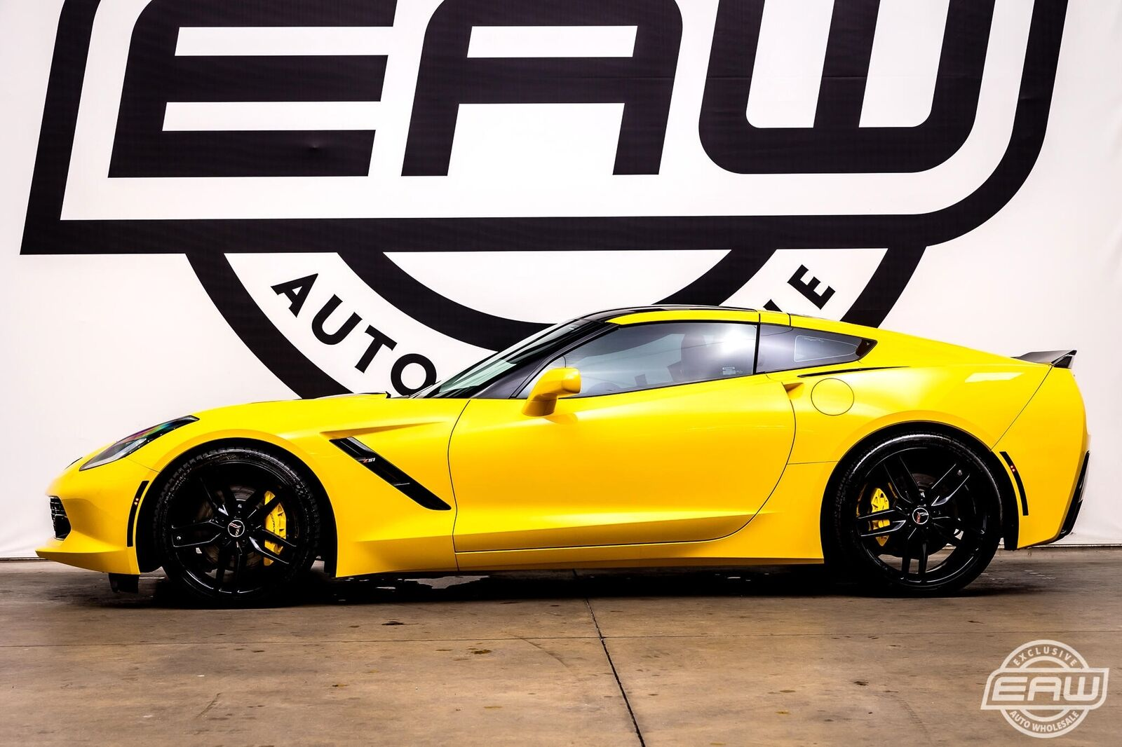 2014 Yellow Chevrolet Corvette Coupe 2LT   C7 Corvette Photo 6