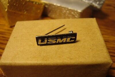 Vintage United States Marine Corp  Usmc Lapel Pin W Safety Pin Clasp Back    S