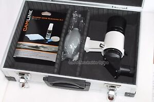 Skywatcher 9x50 erect image angled finderscope + aluminium case and cleaning kit