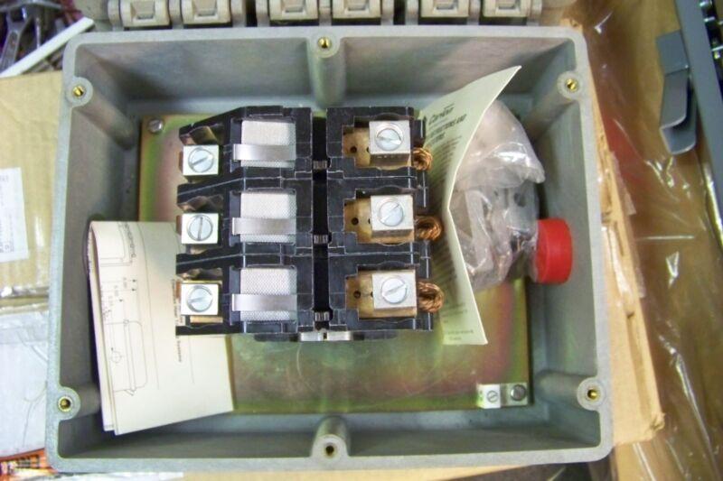 new raychem e104 3 pole contactor