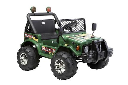 12V RIDE ON CAR KID TOY 2 SEAT 4WD JEEP HUMMER Hornsby Hornsby Area Preview