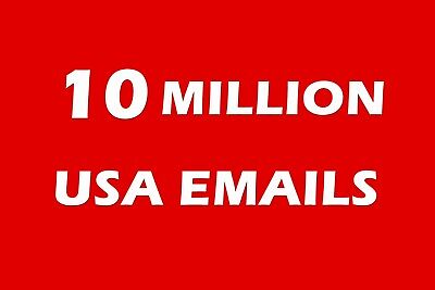 10 Million Usa Email List For Marketing   Business