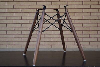 """New Eames """"REAL American Walnut"""" Dowel Bases for Herman Miller Side Shell Chair. for sale  Kaysville"""