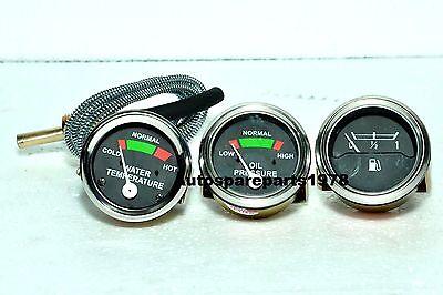 Massey Ferguson Gauge Set- Oil Pressure Male Temp Fuel Mf 355065135150