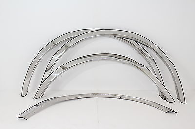 FENDER TRIM, Stainless Steel FTFD209 For: FORD F-350 1987-1996