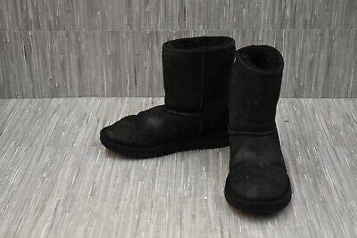 UGG Kids Classic II 5251 Boots, Big Girl's Size 4, Black