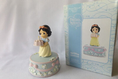 Precious Moments Disney Showcase Collection Snow White Musical Figurine NIB