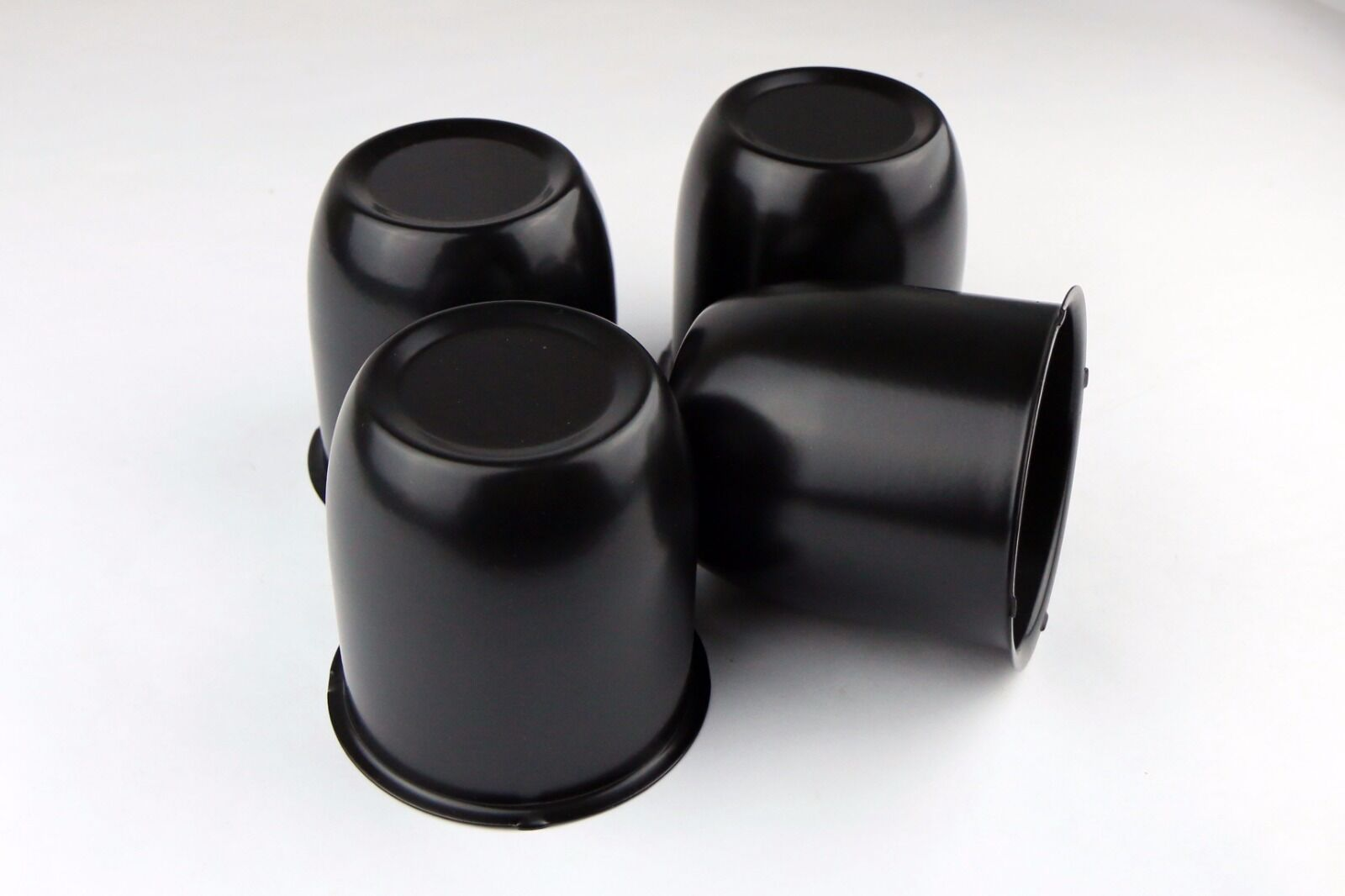 4 x Chrome Steel Push Thru Center Caps Fit Wheels Rims with 3.30 Center Bore!!!
