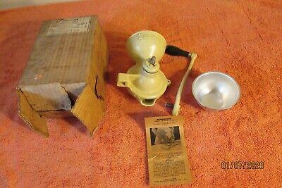 Vintage Landers, Frary & Clark # 905 Coffee Mill Nos