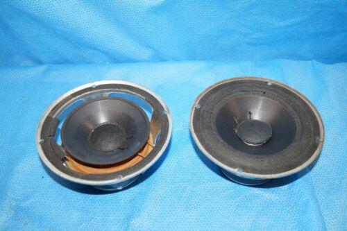 """Pair Of Fried Speaker 6-1/2"""" Woofers From Beta Speakers Needing Surrouds"""