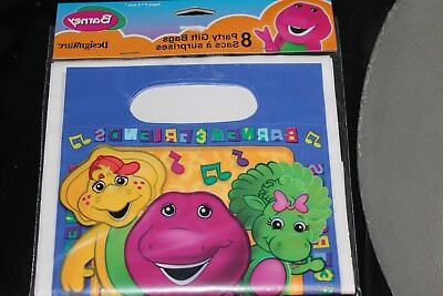 Barney Party Supplies (NEW BARNEY LOOT BAGS PARTY)