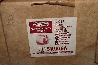 Dayton 5k006 Electric Motor 120hp 1550rpm 115v Cwse