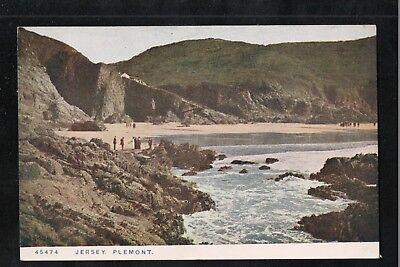 Jersey Plemont 1954 Postcard ~ SLOGAN POSTMARK ~ LOVELY COLOURS ~ GOOD QUALITY