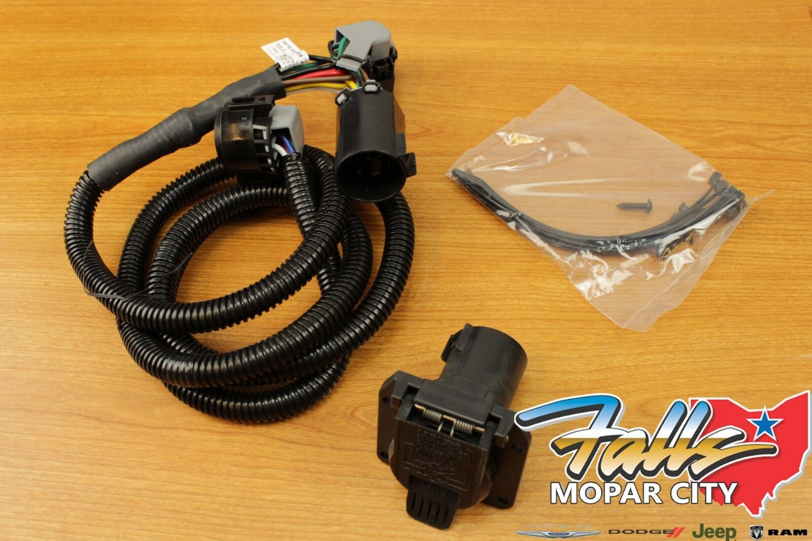 2010 2018 Dodge Ram 2500 3500 Goose Neck Trailer Tow Wiring Kit 5th Wheel Harness For Mopar Oem