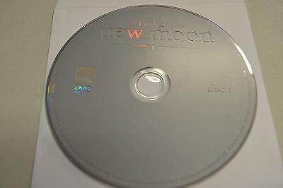 The Twilight Saga  New Moon  Dvd  2010 Disc Only Free Shipping