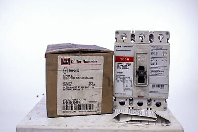 21 AVAILABLE NEW CUTLER HAMMER HFD HFD1020 CIRCUIT BREAKER 20A 20 AMP 1P 277V