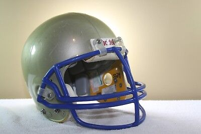 RIDDELL Soft Cup 4 pt High Football Helmet Chinstrap Worn Used From 1990 2000/'s