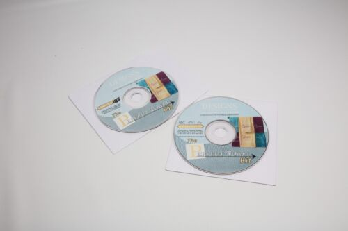 The Perfect Towel Kit Designs in Machine Embroidery CD